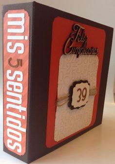 """Album """"Mis 5 sentidos"""", regalo de cumpleaños :)                                                                                                                                                                                 Más"""