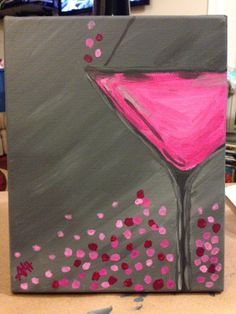 Pink Martini Canvas 8X10- donated to Pink Martini Fundraiser, which will benefit Triple Negative Breast Cancer Research