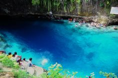 The Hinatuan Enchanted River in Mindanao, Philippines, is an flawless saltwater river that streams into the Pacific Ocean. It is just around 50-feet deep, and just barely long enough to be considered a river, yet the flow lures guests from around the world who want to experience the excellent waters that locals have long thought to be miraculous.