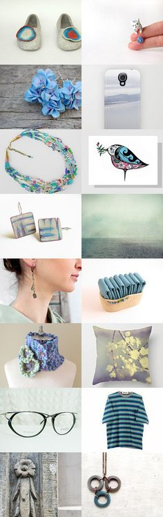 Blue July by maya ben cohen on Etsy--Pinned with TreasuryPin.com