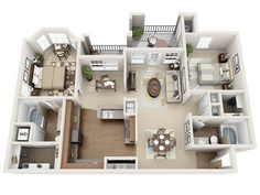Floor Plans | Moorefield Village Apartments For Rent in Ashburn, VA 20148