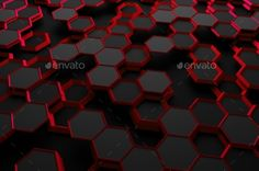 Abstract 3D Rendering Of Surface With Hexagons. by valex113 Abstract 3d rendering of futuristic surface with hexagons. Sci-fi background. Render in JPG format.