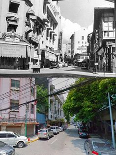 Dito, Noon: Escolta Street, Binondo, Manila, 1930 x -- The Capitol Theater along Escolta was designed by National Artist Juan Nakpil in the Manila Philippines, Ancient Greek Architecture, Gothic Architecture, Senior Citizen Humor, Then And Now Photos, Grand Mosque, Mayan Ruins, Vietnam Travel, Shooting Guard