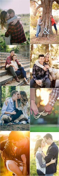 Fall Engagement Photo Shoot and Poses Ideas / http://www.deerpearlflowers.com/fall-engagement-photo-ideas/ #weddingphotography