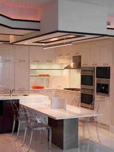 Britto Charette Interiors Design modern kitchen