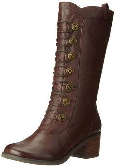 Amazon.com: Miz Mooz Women's Normandy Riding Boot: Shoes