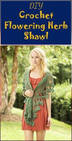 Crochet Refracted Lace Shawl - 100 Free Crochet Shawl Patterns - Free Crochet Patterns - DIY & Crafts