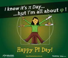 I know it's Pi Day, but I'm all about the Golden Ratio! Pi Math, Math Teacher, Math Classroom, Teaching Math, Teaching Ideas, Teacher Stuff, Maths, Math Comics, Math Cartoons