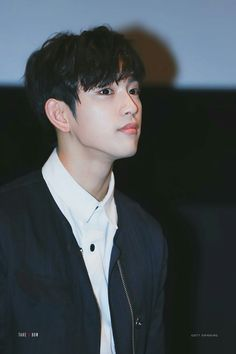 Again. His jawline tho. GOT7 Jinyoung