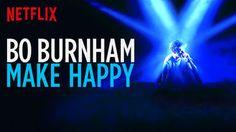 Is Bo Burnham: Make Happy on Netflix New Zealand?
