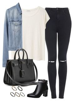 Untitled#2168 by fashionnfacts on Polyvore featuring polyvore, fashion, style, Acne Studios, Topshop, Yves Saint Laurent, ASOS and clothing