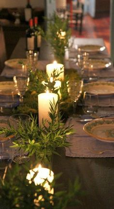 candlelit tablescape...  www.tablescapesbydesign.com https://www.facebook.com/pages/Tablescapes-By-Design/129811416695
