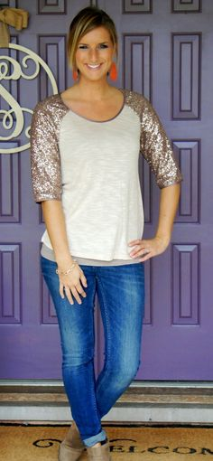 Would love to try some sequins in my wardrobe, this looks doable for Friday nights out or weekend girl adventures.