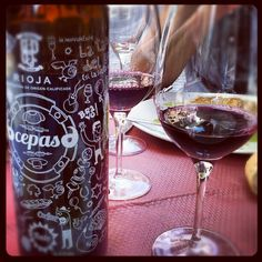 "@winetastelovers's photo: ""Hoy hemos comido con 6 cepas, de #Bodegas Perica, #Rioja"""