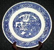 Royal China Company Willow Blue Chop Plate Platter