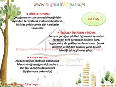evde oynanabilecek tavsiye oyunlar (3) Montessori Baby, Maria Montessori, Bip Bip, Kindergarten, Baby Games, Educational Games, Kids And Parenting, Activities For Kids, Preschool