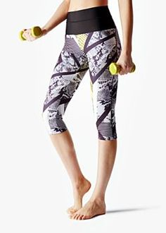 Leggings Fitness Control Top Estampados