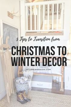If you need tips on how to transition your home from Christmas to Winter Decor then you need to check this out! I have put together 5 tips as well as inspirational photos to help you get to a beautifully decorated Winter Home.