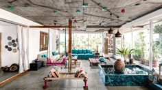 Check Out Irrfan Khan's House Photos with Architectural Digest Home Decor Ideas, Home Decor Inspiration, Architectural Digest, Beautiful Living Rooms, Beautiful Homes, House Beautiful, Indian Living Rooms, Home Ceiling, Bohemian House