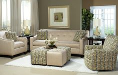 Craftmaster Essentials fabric sofa is part of the Quick Ship Program. Stop in to see the choices. www.rileysfurnitureflooring.