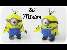 3D Minion | 3D Pen Creation MyRiwell Advanced - YouTube