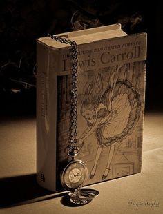 L. Carroll rabbit hole, lewi carrol, alice in wonderland, glass, book, librari, alic wonder, aliceinwonderland, lewis carroll