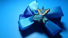 Vaporeon Hair Bow by spinaltapcola on Etsy, $8.00