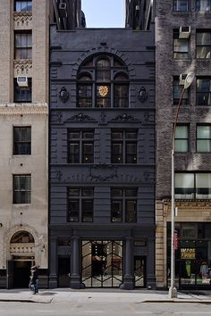 Matte black paint, as seen on Black Ocean's renovated New York firehouse office