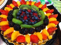 Fruit pie . It's so good.