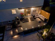 House Yard Design, My Patio Design, Patio Deck Designs, Back Garden Design, Sims House Design, Backyard Pool Designs, Small Backyard Decks, Backyard Plan, Backyard Pergola