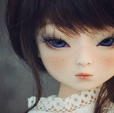 BJD doll, luv her face