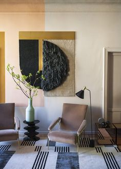 <p>During this year Milan Design Week, Arianna Lelli Mami and Chiara Di Pinto of Studiopepe have chosen the Brera district dear to them, to present an apartment built with the matter of their inner pe