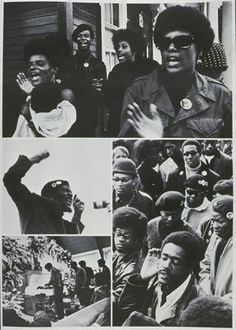 BLACK PANTHERS / Free Huey Newton rally and Bobby Hutton funeral in Oakland (Black Panthers 1968.jpg