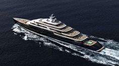 Nauta Yachts reveals its design for a new 165-metre superyacht, a sistership to the world's largest yacht Azzam