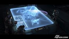 Cinematic cutscreen from 'Halo ODST' Futuristic Technology, Science And Technology, Hologram Technology, Interface Design, User Interface, Spaceship Interior, Holography, Sci Fi Environment, Space Fantasy