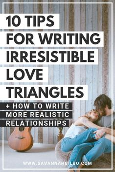 10 Tips for Writing Better Love Triangles Are you writing a romance novel? Or a story with a romantic subplot? Don't miss these 10 tips for writing better, more compelling love triangles! Creative Writing Tips, Book Writing Tips, Writing Process, Writing Help, Writing Workshop, Kids Writing, Writing Resources, Start Writing, Writing Prompts Romance