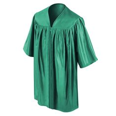 CHILD'S EMERALD GREEN CHOIR ROBE  • Emerald Green Premium Shiny Tricot Fabric  • Sleek, non-see-through shiny finish  • Reinforced stitching throughout the child's choir robe • Strong center pleats on the front of the kids choir robe • Comfortable darted yoke giving the robe strong structure • Sturdy zipper construction with a color matching emerald green zipper • Each Emerald Green Child's Choral Robe comes packaged in its own poly bag