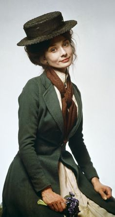 Audrey Hepburn as Eliza Doolittle in 'My Fair Lady' (1964). Costume Design by…