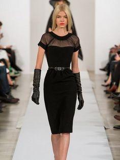 Модели платьев в классическом стиле и фото модных классических платьев для девушек и женщин