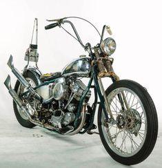 CycleZombies|Old School Chopper #harleydavidsonbobbersoldschool