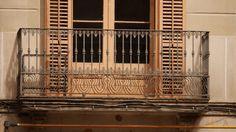 balcony Cast Iron, It Cast, Balcony, Barcelona, Stairs, Photo Illustration, Terrace, Ladders, Ladder