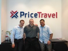 Adam, Jason, and Israel are in Cancun to meet with our latest partners, PriceTravel!   Or at least that's the reason they gave us when they left.