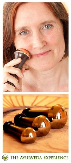 """""""This kansa wand is nothing short of a miracle. It took 10 years off my face in 20 minutes!"""" This is what Sabrina said when she used the Kansa Wand for 20 minutes on her face! What is this Kansa Wand? A very unique massage tool made of, what is known as 'the healing metal of India', Kansa, the Kansa Massage Wand is an all natural way to feel youthful, relaxed and energized at the same time!"""