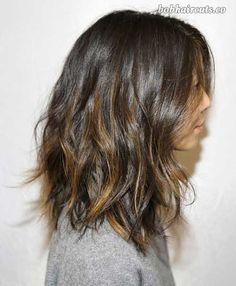 15 Best Long Bob Brown Hair - 12 #LobHairstyles