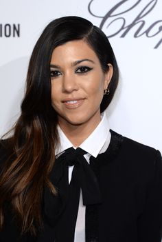 Kourtney Kardashian Ombre Hair... Love that it's so subtle