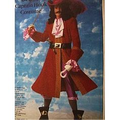 Simplicity 7791 Walt Disney Captain Hook Costume Sewing Pattern Adult Size: Simplicity Co: Amazon.com: Books