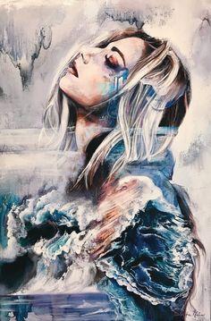 Dimitra Milan #watercolor #paint #art