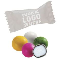 Make a sweet impression with individually wrapped gourmet chocolate mints.