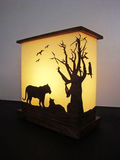 san francisco zoo table lamp  (designed by darshita mistry)