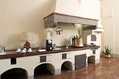 Italian rustic kitchen